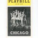 Playbill Magazine Chicago 46th St. Theatre Vintage
