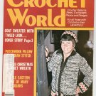 Crochet World Magazine December 1979 Vintage