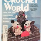 Crochet World Magazine August 1979 Vintage