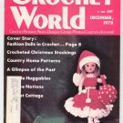 Crochet World Magazine December 1978 Vintage