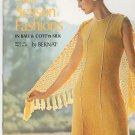 Sun Season Fashions In Bali & Cott'n Silk by Bernat Book 186 Vintage