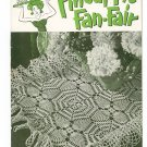Pineapple Fan Fair Book No. 266 Crochet Clarks J&P Coats Vintage