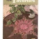 Old And New Favorites Book No. 269 Crochet Clarks J&P Coats Vintage