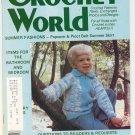 Crochet World Magazine April 1981 Vintage