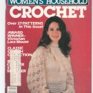 Womens Household Crochet Magazine Winter 1982 Vintage