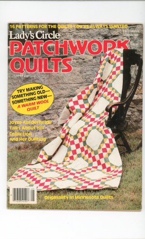 Ladys Circle Patchwork Quilts Magazine Spring 1982