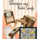 Television And Radio Scarfs Crochet Star Book No. 78 Vintage