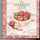 For Goodness Taste Cookbook by Junior League Of Rochester 0960561218