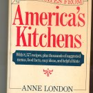 Best Recipes From America's Kitchens Cookbook by Anne London  0517665549