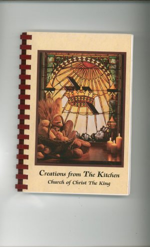 Creations From The Kitchen Cookbook Regional Church New York