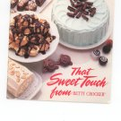 That Sweet Touch From Betty Crocker Cookbook