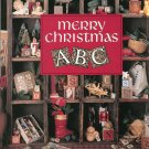 Merry Christmas ABC Cross Stitch Leisure Art Book Six  0942237277