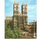 Westminster Abbey Guide Souvenir Vintage 853720282