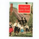 Stratford Upon Avon Guide Souvenir Vintage 853063818