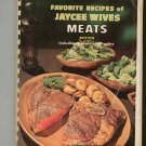 Favorite Recipes Of Jaycee Wives Meats Regional Alabama Vintage