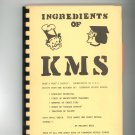Ingredients Of KMS Cookbook Regional Kingwood Middle School Texas