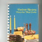 Favorite Recipes From Our Best Cooks Cookbook Regional Larger Parish Church Women