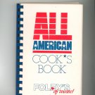 All American Cooks Book Cookbook Regional Texas Foleys Foley's