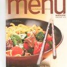 Special Wegmans Menu Magazine / Cookbook Winter 2007 Regional