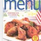 Special Wegmans Menu Magazine / Cookbook Summer 2009 Regional