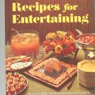 Better Homes & Gardens Recipes For Entertaining Cookbook Vintage Item 0696005808