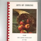 Joys Of Cooking Cookbook Regional Ladies Auxiliary New York Fire