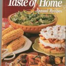 1995 Taste Of Home Annual Recipes Cookbook 0898212960