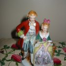 Occupied Japan Colonial Couple Figurine Marked