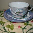Cup And Saucer Florida Souvenir Flamingo Plus