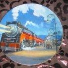 Starlight Limited Collector Plate Romance Of The Rails Hamilton Train Tutwiler