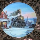 Morning Star Collector Plate Romance Of The Rails Hamilton Train Tutwiler