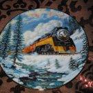 Daylight Run Collector Plate Winter Rails Hamilton Train Ted Xaras