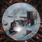 The Long Haul Collector Plate Winter Rails Hamilton Train Ted Xaras