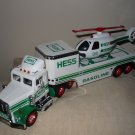 Hess Truck  With Helicopter 1995 Complete With Box Never Used