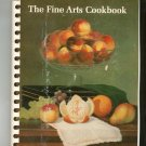 The Fine Arts Cookbook by Museum Of Fine Arts Boston Massachusetts Vintage