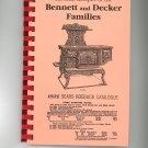 Favorite Recipes Of The Bennett and Decker Families Cookbook Regional New York