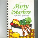 California Party Starters Cookbook by Lawrys Foods First Edition