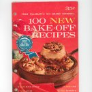 From Pillsbury 15th Grand National 100 New Bake Off Prize Winning Recipes Cookbook Vintage Item