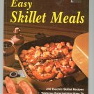 Better Homes And Gardens Easy Skillet Meals Cookbook 0696006103 Vintage First Edition