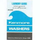 Laundry Guide Owners Manual Sears Kenmore Washers 3349103 Rev. C