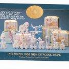 Precious Moments Gift Accessories Catalog 1986 Enesco