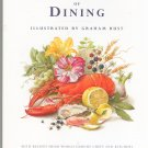The Fine Art Of Dining Cookbook Illustrated by Graham Rust 0821222244