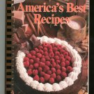 Americas Best Recipes Cookbook A 1990 Hometown Collection 0848710096