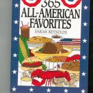 365 All American Favorites Cookbook by Sarah Reynolds 0060172940