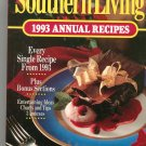 Southern Living 1993 Annual Recipes Cookbook 0848711424