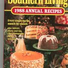 Southern Living 1988 Annual Recipes Cookbook 0848707338