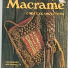 Macrame Creative Knot Tying by Sunset 376045418 Vintage