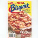 Betty Crocker New Bisquick Weeknight Meals Cookbook #225