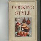 Cooking With Style Cookbook by Charlotte Adams Vintage