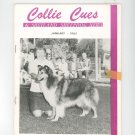 Collie Cues & Shetland Sheepdog News January 1965 Vintage